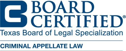 Board Certified Criminal Appellate Law